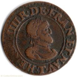 CGKL216 - Double tournois Henri IV 1610T...