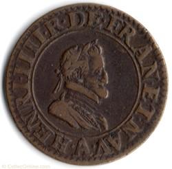 CGKL222 - Double tournois Henri IV 1603A
