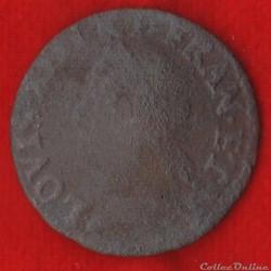 Louis XIII - Double Tournois - 164? -