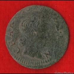 Principauté d'Arches-Charleville - 1654 - Denier tournois
