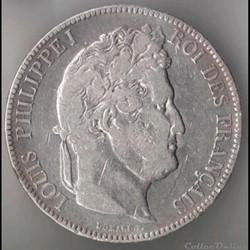 Louis Philippe Ier - 5 Francs - 1843 - L...