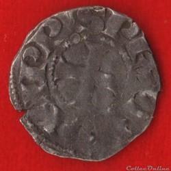 Philippe III - Denier tournois à l'O ron...