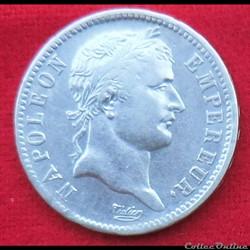 Napoléon Ier - 1 Franc - 1812 - Paris