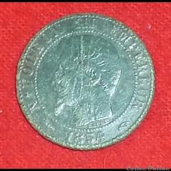 Napoléon III - 5 Centimes - 1854 - Paris