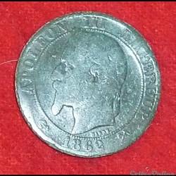 Napoléon III - 5 Centimes - 1862 - Bordeaux