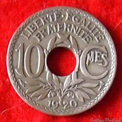 Lindauer - 10 Centimes - 1920