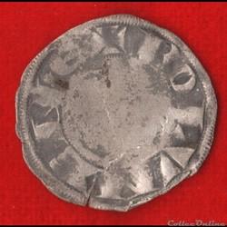 Comté de Boulogne - 1191-1227 - Denier Parisis