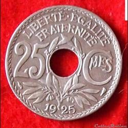 Lindauer - 25 Centimes - 1925