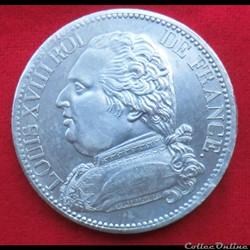 Louis XVIII - 5 Francs - 1814 - Paris