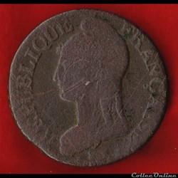 Consulat / Directoire - 5 centimes Dupré...