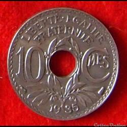 Lindauer - 10 Centimes - 1935