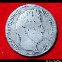 Louis Philippe Ier - 5 Francs - 1833 - L...
