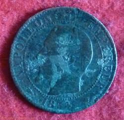 Napoléon III - 5 Centimes - 1854 - Marse...