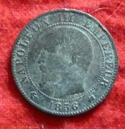 Napoléon III - 5 Centimes - 1856 - Borde...