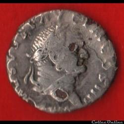 Denier de Vespasien - Divinisé ( Faux d'...
