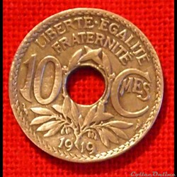 Lindauer - 10 Centimes - 1919