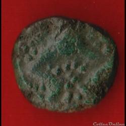 Bellovaques - Bronze au personnages cour...