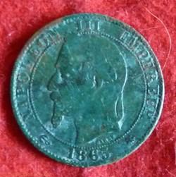 Napoléon III - 5 Centimes - 1865 - Paris