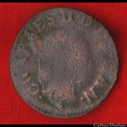 Principauté d'Arches-Charleville - 1653 - Denier tournois