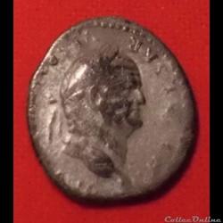Denier de Vespasien - La paix