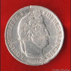 Louis Philippe Ier - 1/2 Franc - 1837 - ...