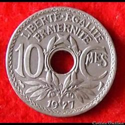 Lindauer - 10 Centimes - 1927