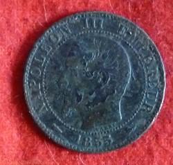 Napoléon III - 5 Centimes - 1855 - Lyon