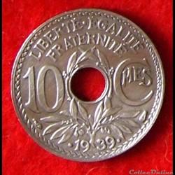 Lindauer - 10 Centimes - .1939.