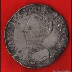 Charles IX - Teston - 1563 - Toulouse