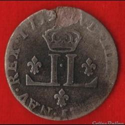 Louis XIV - 30 Deniers - 1713 - Lyon