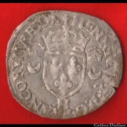 Henri II - Douzain aux croissants - 1552...