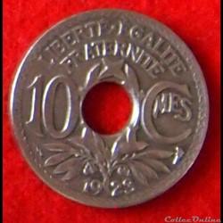 Lindauer - 10 Centimes - 1923 Eclair