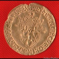Francois Ier - Ecu d'or - 1519 - Bayonne