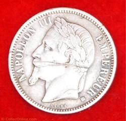 Napoléon III - 1 Francs - 1868 - Strasbo...