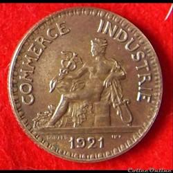 Chambres de Commerce - 2 Francs - 1921