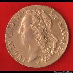 Louis XV - Double Louis d'or - 1743 - St...