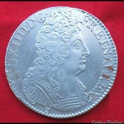 Louis XIV - Ecu aux trois couronnes - 17...