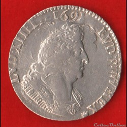 Louis XIV - Quart d'écu - 1700 - ? - Sur...