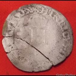Henri II - Demi-gros - 1551 - Paris