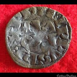 Philippe IV - Obole parisis - 1295-1290 ...
