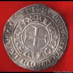 Charles V - Gros tournois - 1369 -
