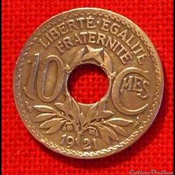 Lindauer - 10 Centimes - 1921
