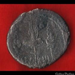 monnaie antique romaine denier de xiiieme legion sous marc antoine