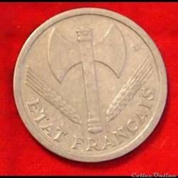 Francisque - 2 Francs - 1943