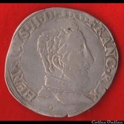 Henri II - Teston - 1556 - Toulouse