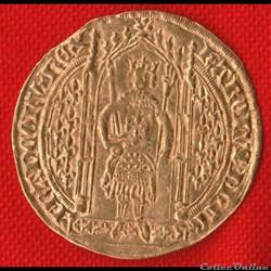Charles V - Franc à pied - 1365 -