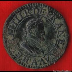 Henri IV - Double Tournois - 1604 - Pari...