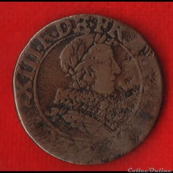 Louis XIII - Double Tournois - 1633 -