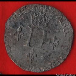 Henri II - Double sol parisis - 1550 - P...