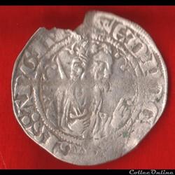 Duché d'Aquitaine - 1362-1364 - Demi-gro...